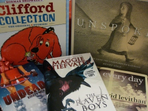 Books for young readers and teens.